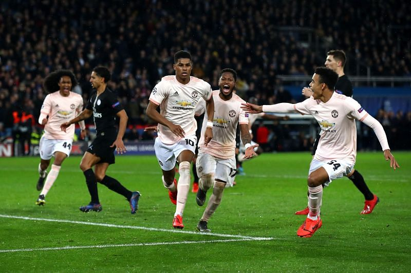 Paris Saint-Germain will host Manchester United on Wednesday