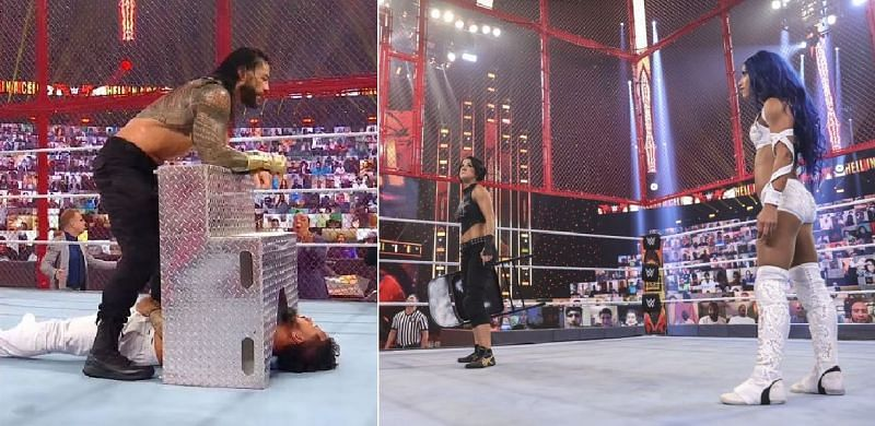 There were some shocking botches at Hell in a Cell