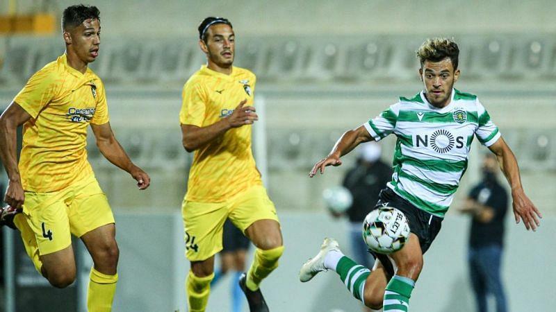 Former Wolverhampton Wanderer midfielder Pedro Goncalves has scored three goals for Sporting this season