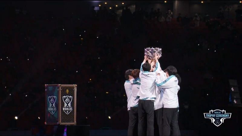 DAMWON Gaming is the winner of League of Legends Worlds 2020 (Image credit: LoL Esports/YT)