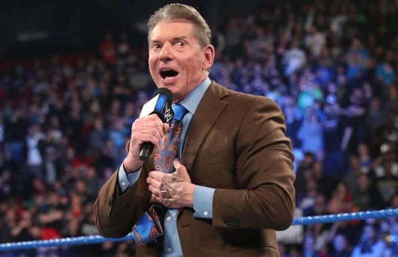 WWE Charman Vince McMahon