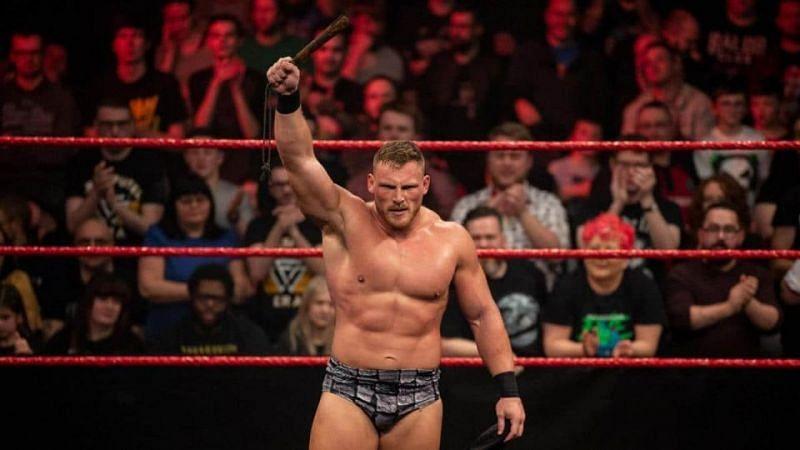 Ridge Holland WWE career