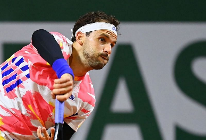 Grrigor Dimitrov is still looking for his first big result in Paris.
