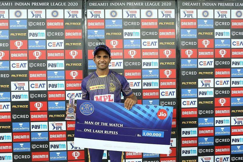 Shivam Mavi registered his best IPL figures last night (Image Credits: IPLT20.com)
