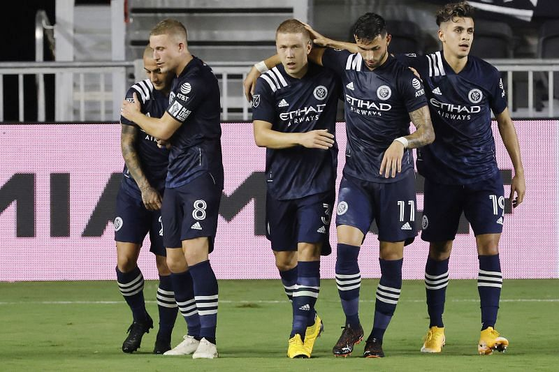 New York City FC are in action against New England Revolution this weekend