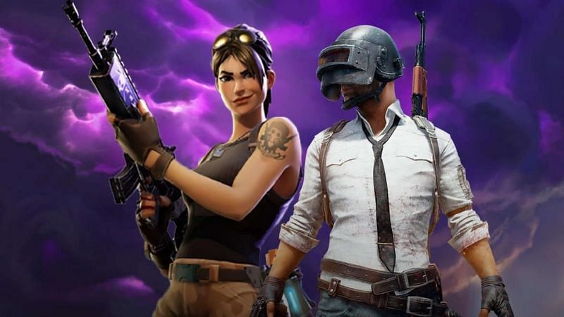 PUBG Mobile and Fortniteare two popular battle royale titles (Image Credits: Wallpaper Cave)
