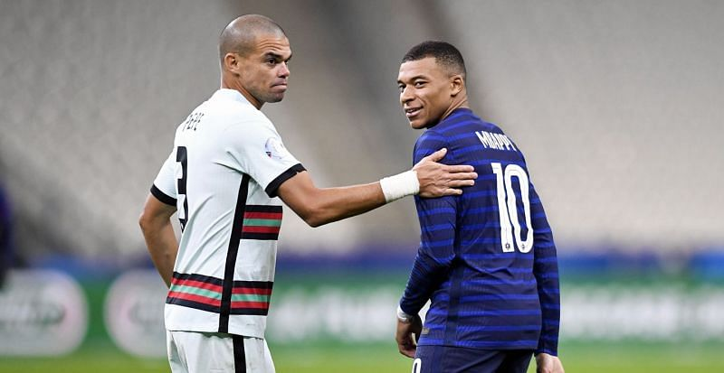 Pepe in action against France [Image courtesy: Ligue1.com]