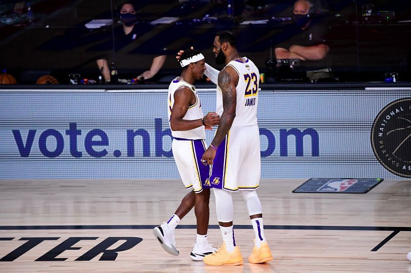 Lebron James spurred the Lakers to their 17th Championship