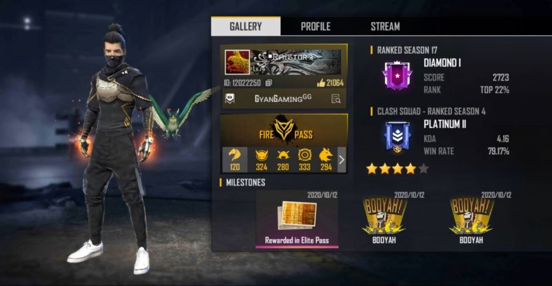 Raistar in Free Fire: In-game ID, settings, stats, and more
