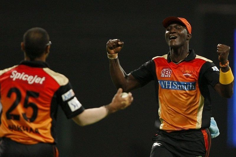 Darren Sammy became SRH captain midway through the 2014 IPL campaign.