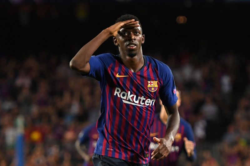 Barcelona star Ousmane Dembele has emerged as a shock target for the Red Devils