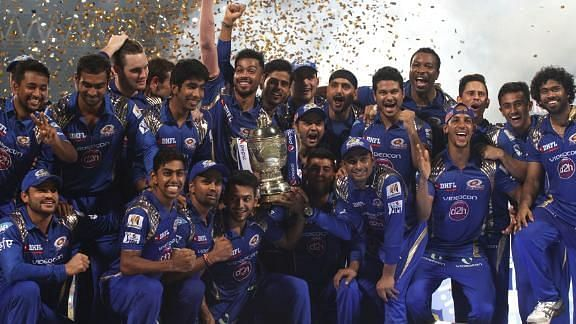MI won IPL 2015 after finishing fourth in the league stage (Image Credits: Twitter)