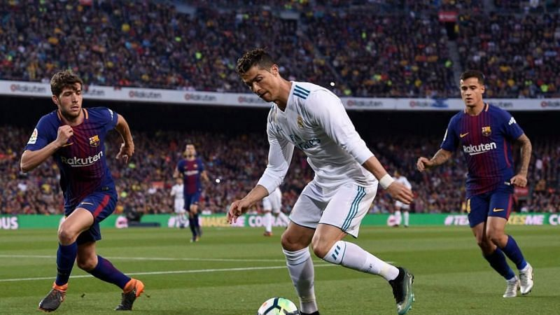 Cristiano Ronaldo is one of the all-time top scorers in the history of the El Clasico.