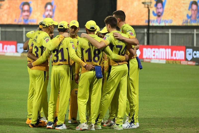 The Chennai Super Kings have won only three matches in IPL 2020 so far (Image Credits: IPLT20.com)