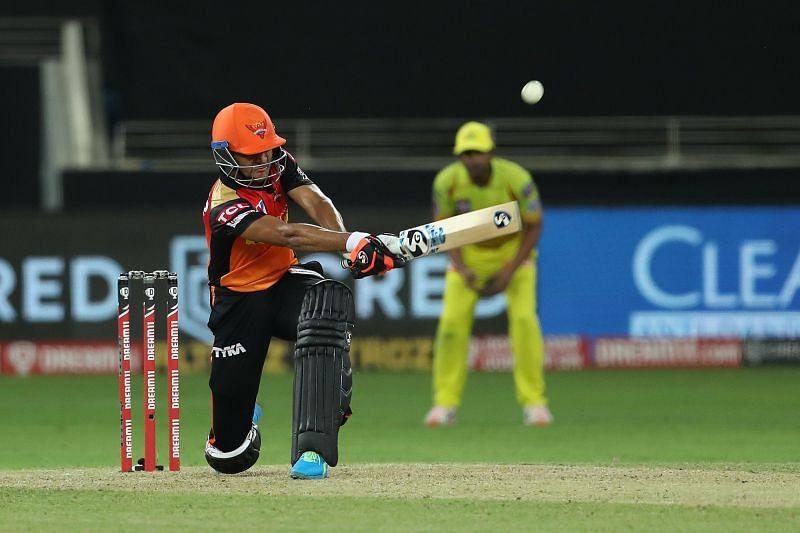 Priyam Garg scored an unbeaten 51 off just 26 balls against CSK. (Image Credits: IPLT20.com)
