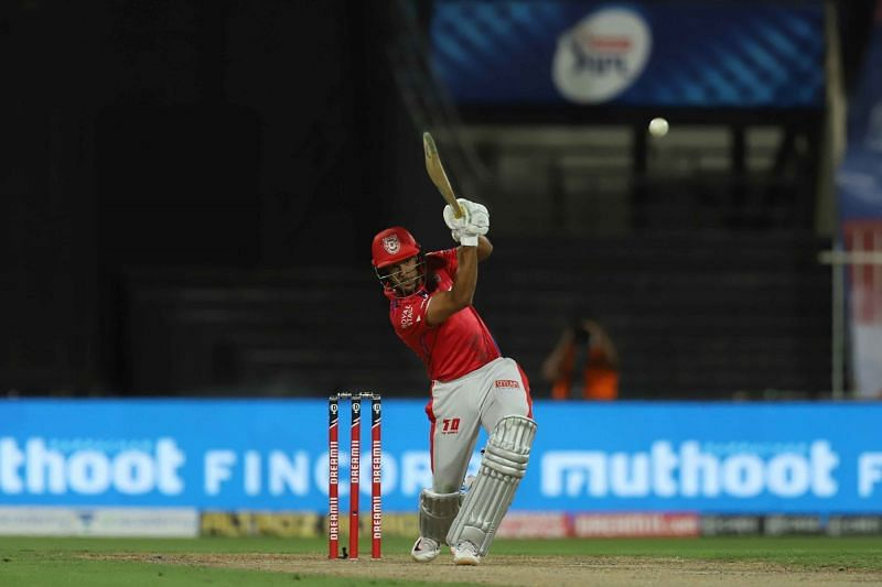 Mayank Agarwal was excellent in the powerplay for KXIP [PC: iplt20.com]