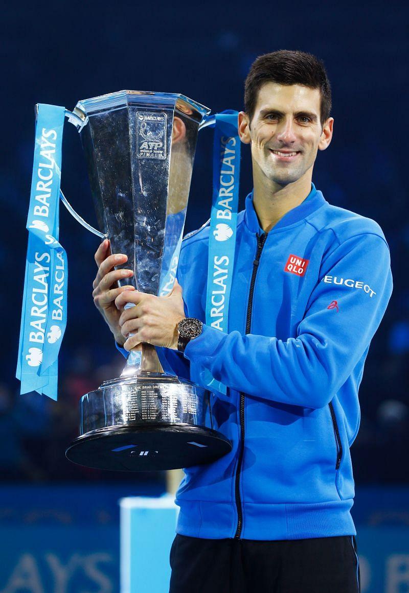Novak Djokovic at the 2015 ATP World Tour Finals