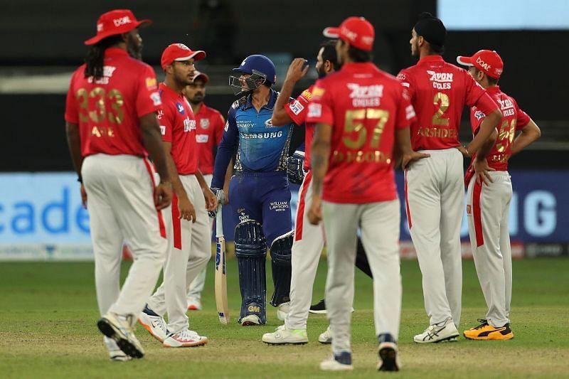 Kings XI Punjab emerged victorious over the Mumbai Indians.