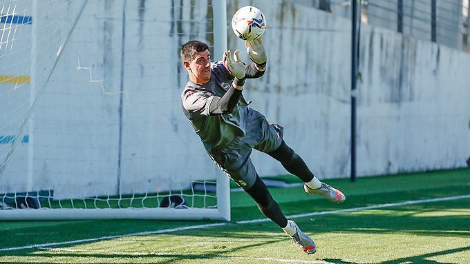 Thibaut Courtois will be available for the weekend clash against Cadiz