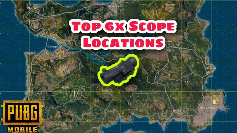 Best 6x locations