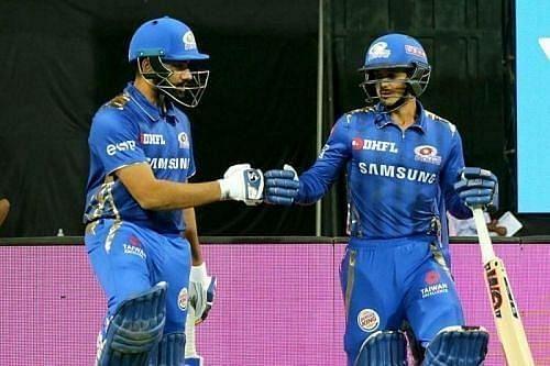 Mumbai Indians openers - Rohit Sharma and Quinton de Kock