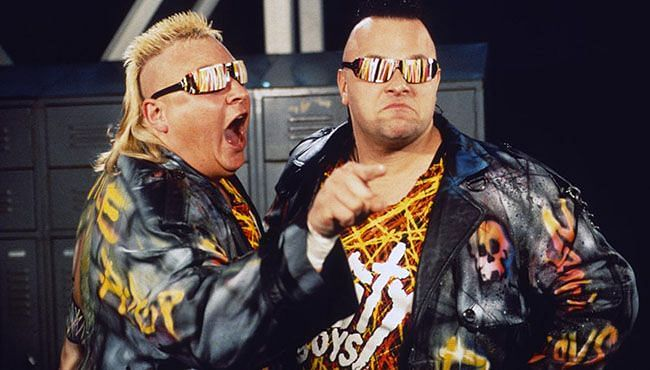 The Nasty Boys once pranked Vince McMahon