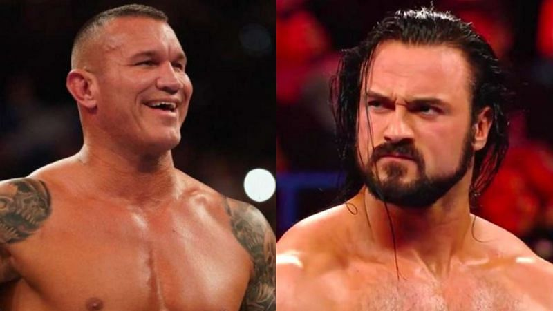 Randy Orton(left); Drew McIntyre (right)