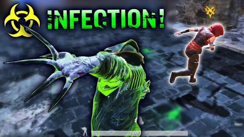 Infection game mode in PUBG Mobile Lite