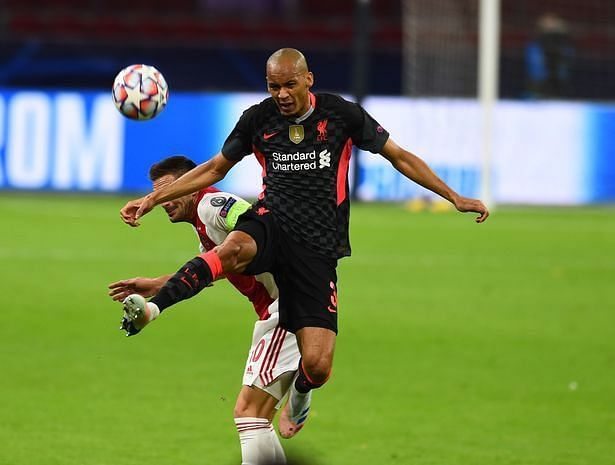Fabinho was massive at the back for Liverpool