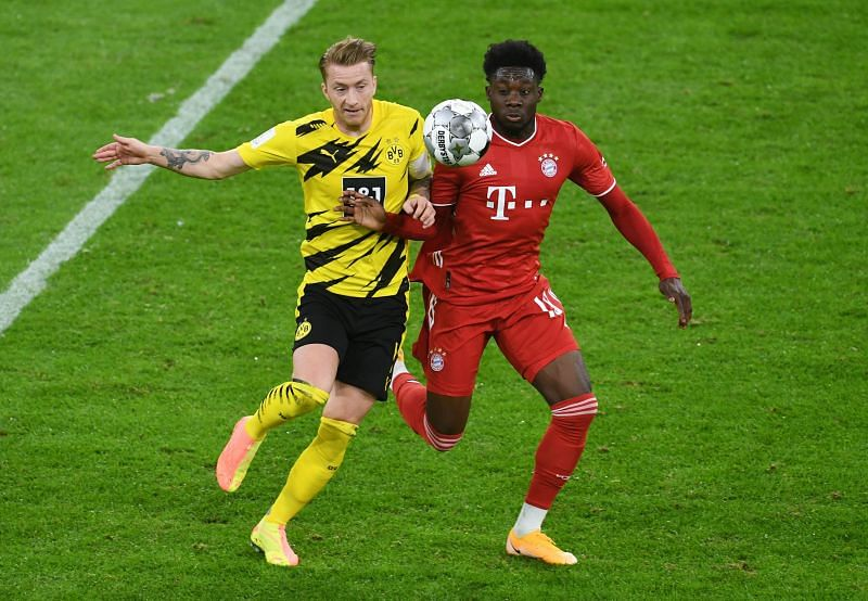 Reus never stopped running against Bayern Munich and didn