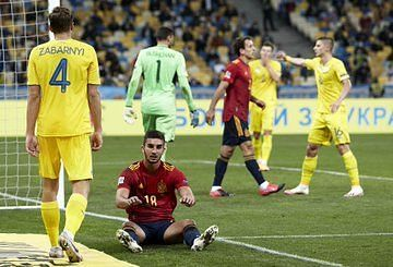 Spain did not meet expectations in this game