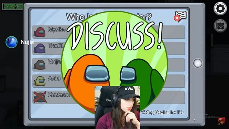 Twitch streamer Sweet Anita had a rather unfortunate moment during a recent Among Us stream