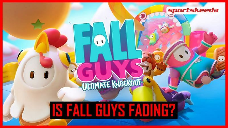 Fall Guys faced a massive drop in player count