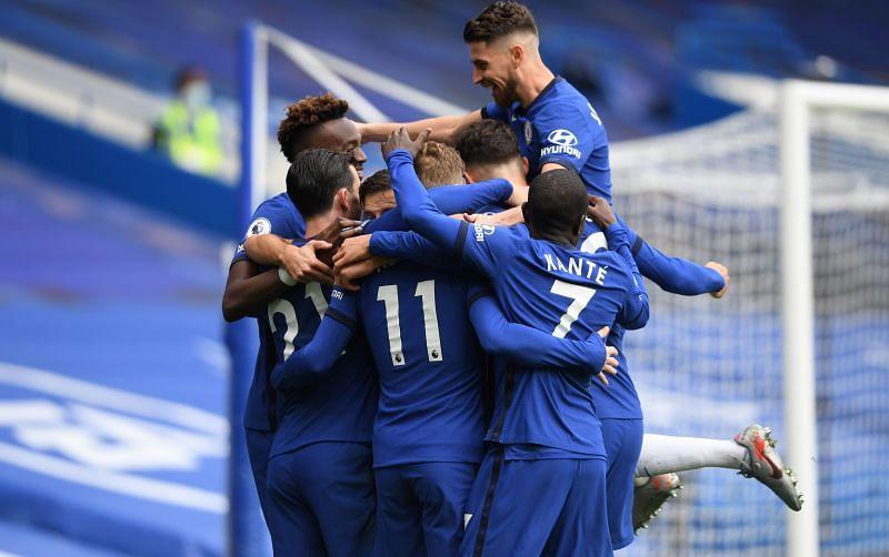Chelsea win 4-0 at the Bridge