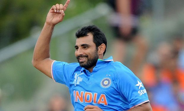 Mohammed Shami had gained a lot of weight after his injury in the 2015 World Cup.