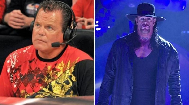 Jerry Lawler (L) and The Undertaker (R)