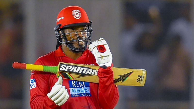 Chris Gayle is set to play his first IPL 2020 match tonight (Credits: IPLT20.com)