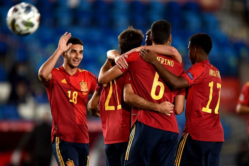 Spain have been in excellent form