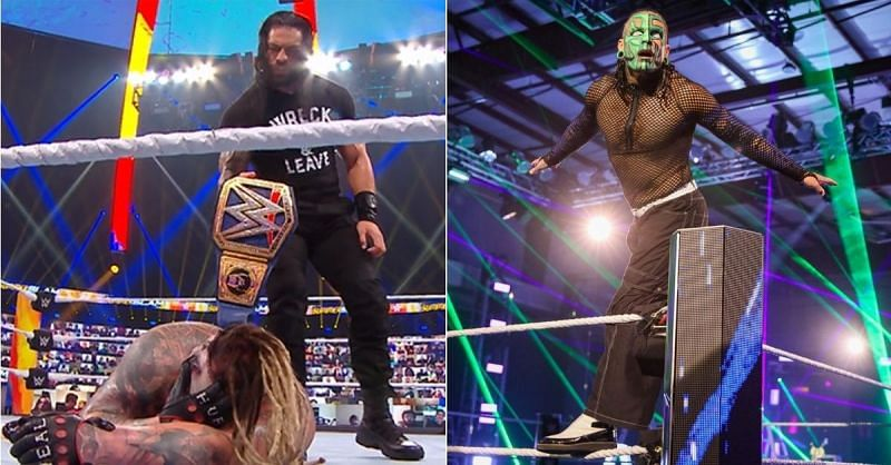 Roman Reigns and The Fiend; Jeff Hardy