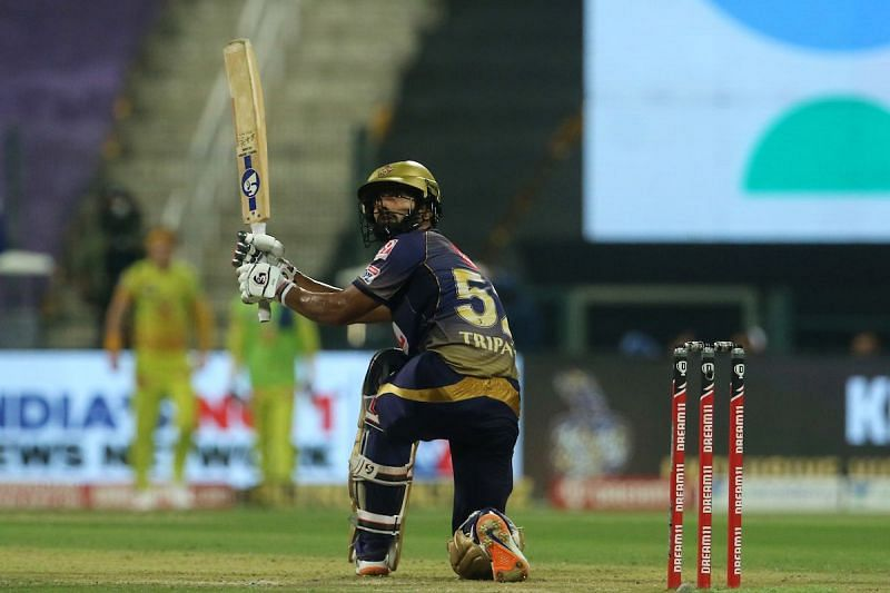 Rahul Tripathi hardly looks the top-order find he seemed to be at the start of the season.