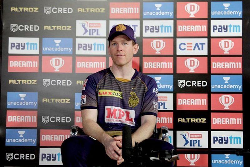 Eoin Morgan has replaced Dinesh Karthik as the Kolkata Knight Riders