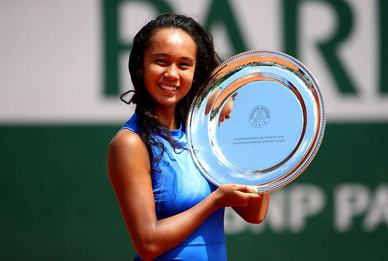 Leylah Fernandez won the junior French Open last year