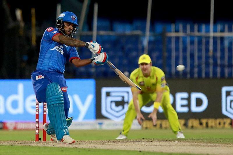 Shikhar Dhawan scored a match-winning century for the Delhi Capitals against CSK [iplt20.com]