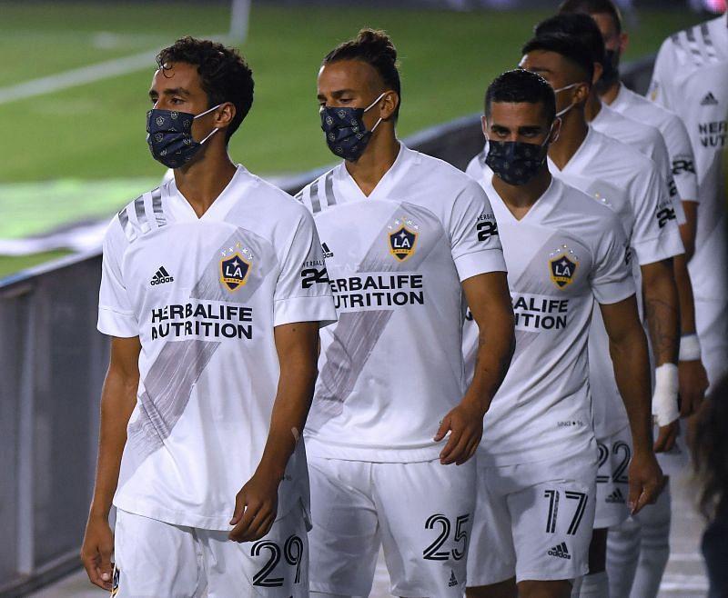 LA Galaxy host Real Salt on Sunday evening