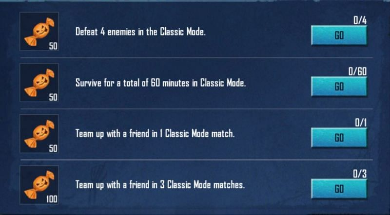 Missions in this PUBG Mobile event