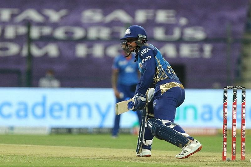 Quinton de Kock was in fine form for the Mumbai Indians.