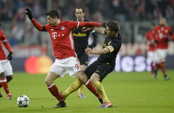 Bayern Munich begin their Champions League title defence against Atletico Madrid.