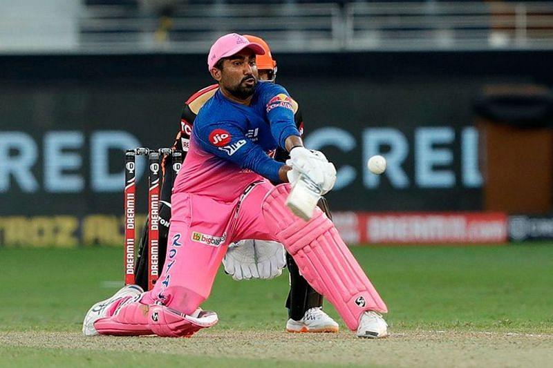 Rahul Tewatia played a match-winning knock for the Rajasthan Royals [P/C: iplt20.com]