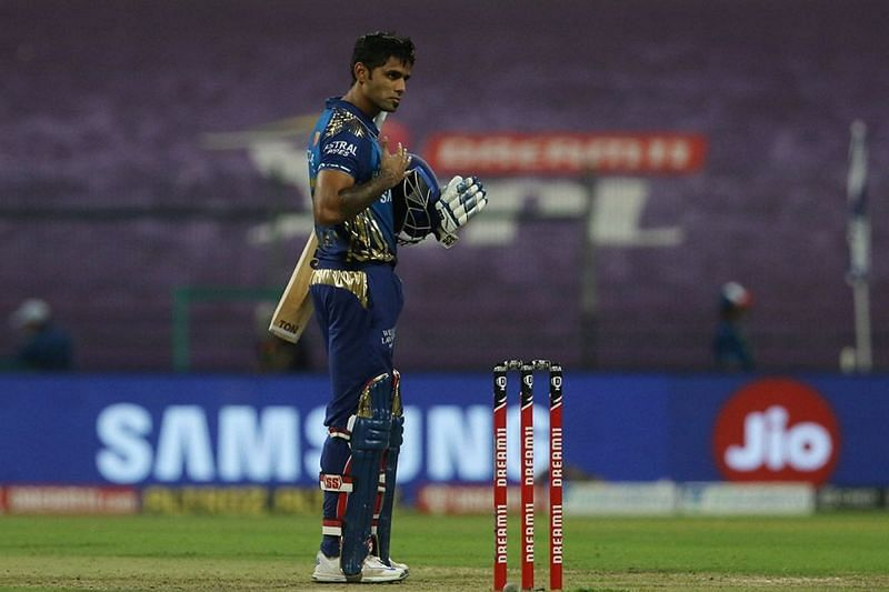 Suryakumar Yadav registered his 3rd IPL 2020 fifty tonight (Credits: IPLT20.com)