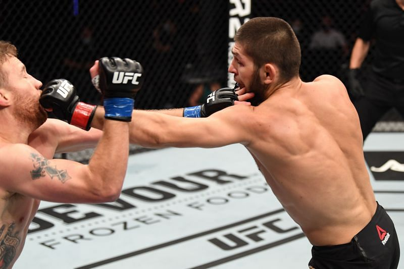 Khabib Nurmagomedov did not want to injure Justin Gaethje at UFC 254